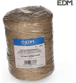 Edm hilo natural yute biodegradable 3 con bobina 400g/120mts 8425998878189 - 87818