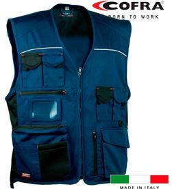 Cofra chaleco expert azul marino negro talla 60 8023796154155 - 80596
