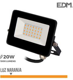 Edm foco proyector led 20w luz naranja 8425998703177 - 70317