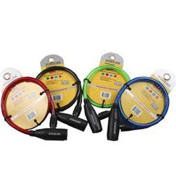 Stahlex candado economico con llave bicicleta colores surtidos 8717729114148 - 08048