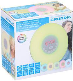 Grundig reloj despertador con luz y radio led 8711252081953 - 07804