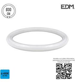 Edm tubo circular led g10q 20w 1700 lm 6400k luz fria (equipo 32w) 8425998311884 - 31188