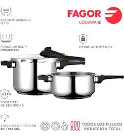 Fagor olla super rápida rapid 4+6l inox 18/10 8429113800086 - 78513