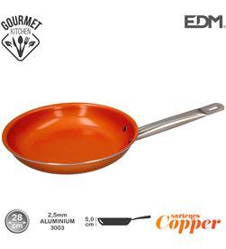 Edm sarten antiadherente - ''copper line'' - excilon tecnology - ø28cm - 8425998765939 - 76593
