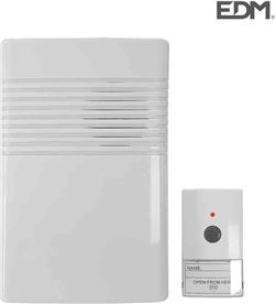 Edm timbre sin hilos pulsador y receptor a pilas (alcance 50 mts) 8425998493030 - 49303