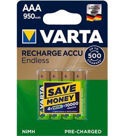 Varta pila recargable accu endless aaa lr03 950mah pack 4 uni 4008496928378 - 38628