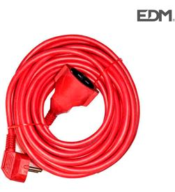 Prolongacion manguera 15mts 3x1,5 flexible roja Edm 8425998236019 - 23601