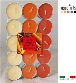 Magic velas perfumadas naranja-canela 30uni. lights 8030650151236 - 83932
