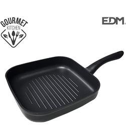 Edm asadora grill - ''professional line''- whitford tecnology - 24x24cm - 8425998766769 - 76676