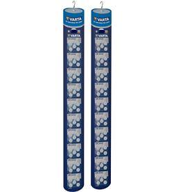 Varta pack 2 tiras micropilas 100 pilas boton varias 4008496863235 - 38484