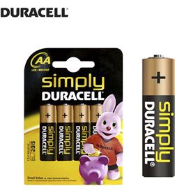 Duracell pila simply lr06 aa (blister 4 pilas) 5000394076952 - 38035