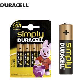 Pila Duracell simply lr06 aa (blister 4 pilas) 5000394076952 - 38035