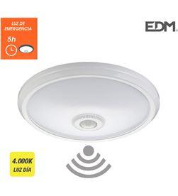 Edm aplique de superficie con sensor y luz de emergencia ip20 1100 lumens 16w 3 8425998325102 - 32510