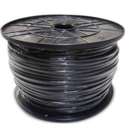 Edm carrete manguera acrilica 1kw 3x1mm negra 300mts (bobina grande ø400x200mm) 8425998289756 - 28975