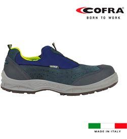Cofra zapatos de seguridad setubal s1 talla 44 8023796525368 - 80352
