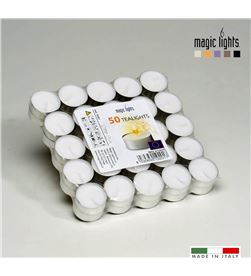 Magic pack 50 velas blancas 12gr. lights 8030650192017 - 83910