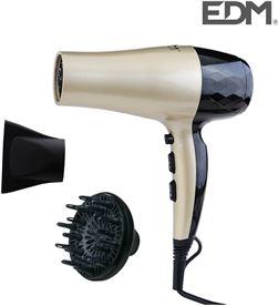Secador de cabello - 1800-2200w - Edm 8425998076332 - 07633