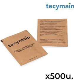 Tecymain pack con 500 toallitas hidroalcoholicas 1370070190475 - 96534