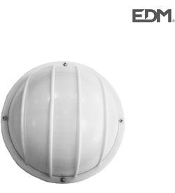 Edm aplique aluminio ip54 redondo blanco e27 100w modelo vinyols 8425998343021 - 34302