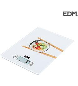 Edm bascula de cocina max 5kg mod 1 8425998075267 Balanzas - 07526