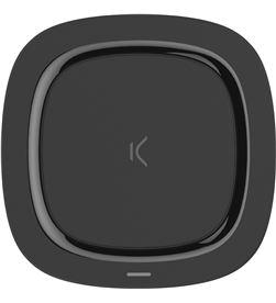 Ksix BXCQI07 cargador inalambrico fast charging 10w (comp. iphone) neg - CONBXCQI07