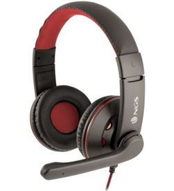 Ngs VOX420DJ auriculares / con micrófono/ jack 3.5/ negros y rojos - NGS-AUR VOX420DJ