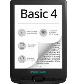 Pocketbook PB606-E-WW BLAC basic4 negro e-book libro electrónico 6'' e ink cart hd 8gb ranu - +22843
