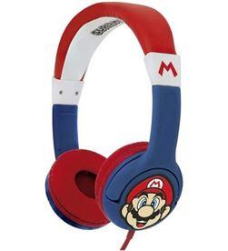 Todoelectro.es auriculares infantiles otl super mario/ jack 3.5/ azules sm0762 - OTL-AUR SM0762