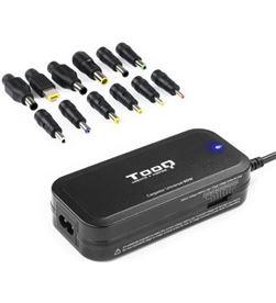 Tooq TQLC-90BS02M cargador de portátil / 90w/ manual/ 12 conectores/ voltaje - TOO-CAR TQLC-90BS02M