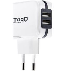 Tooq TQWC-1S02WT cargador de pared / 2xusb/ 17w Cargadores - TQWC-1S02WT