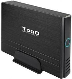 Todoelectro.es caja externa para disco duro de 3.5'' tooq tqe-3520b/ usb 2.0 - TOO-CAJA TQE-3520B