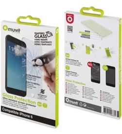 Protector pantalla Muvit tempered glass iphone 6 MUSCP0623 - MUV-PROTEC MUSCP0623