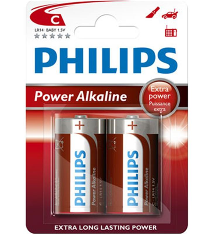 Pilas alcalines Philips 1.5v ( d ) lr20 LR20P2B/10 - LR20P2B-10