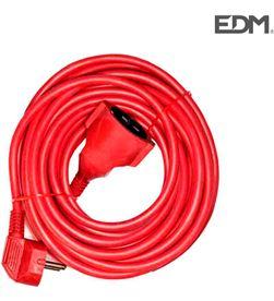 Edm 23600 #19 prolongacion manguera t/tl 10mts 3 x 1,5 flexible roja 8425998236002 - 23600 #19