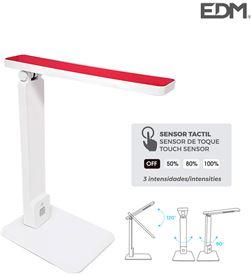 Edm flexo led sobremesa 5w modelo ''roma'' color blanco/rojo interruptor-regulado 8425998303506 - 30350 #19