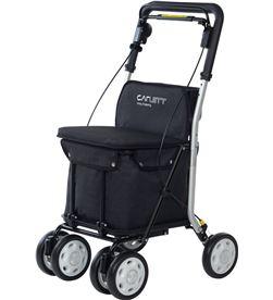 Todoelectro.es carro compra carlett lett800 5 negro asiento 4 ruedas lett800s-5 - LETT800S-5