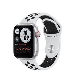 Apple watch se 40mm gps cellular nike caja aluminio con correa platino y ne MYYW2TY/A - MYYW2TYA