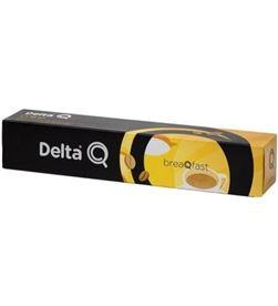 Todoelectro.es DEL-CAFE BREAQFAST caja de 10 cápsulas de café delta breaqfast - dulzura e intensidad ideal - 5028322 - DEL-CAFE