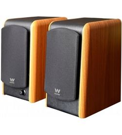Altavoces con bluetooth Woxter dynamic line dl-610 wooden/ 180w/ 2.0 SO26-084 - WOX-ALT SO26-084
