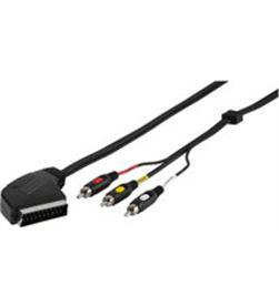 Vivanco 47017 cable scart a 3rca in/out 2m Accesorios - 47017 #1