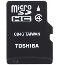 Toshiba microsd 16gb class 4 con/adapt THNM102K0160M2 - THNM102K0160M2