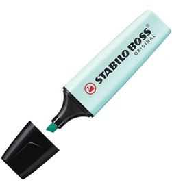 Todoelectro.es marcador fluorescente punta biselada - color turquesa - stabilo boss origin 70/113 - STA-BOSS PASTEL AZUL