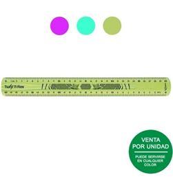 Todoelectro.es regla flexible maped 027900 - doble graduación - 30cm - colores surtidos - MAP-REGLA 027900