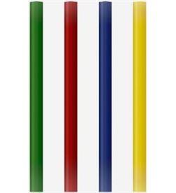 Todoelectro.es blister 12 barras de colores de cola grafoplas 00058699 - pega plástico/mad - GRA-BARRA 00058699