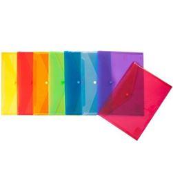 Todoelectro.es sobre pp translucido cuarto ecoplas de plastico violeta con cierrre de bro 04881235 - 04881235