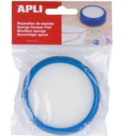Todoelectro.es esponja mojasellos apli 17193 azul - 84*23mm - API-ESPONJA 17193