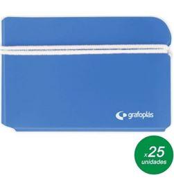 Todoelectro.es portamask grafoplas 85000933 azul cielo - funda de pp para guardar tu masca - 85000933