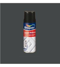 Esmalte multiuso spray brillante gris medio 0,4l Bruguer 8429656009052 - 25125