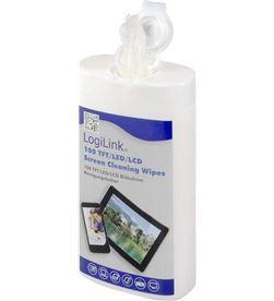 Logilink toallitas de limpieza para pantallas tft, lcd i plasma (100un) 4052792003413 - 96535