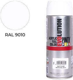 Pinty spray ral 9010 blanco opaco 400ml 8429576184600 - 96841